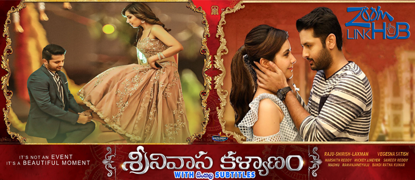 Srinivasa Kalyanam (2018) With Sinhala Subtitles