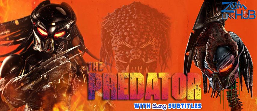 The Predator (2018) With Sinhala Subtitles