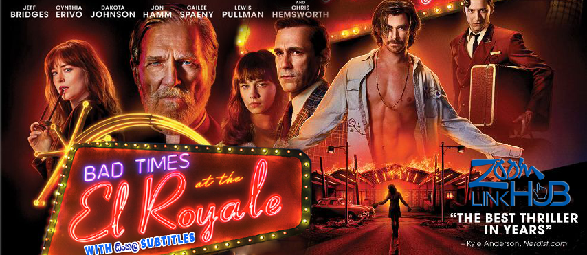 Bad Times at the El Royale (2018) With Sinhala Subtitles